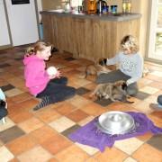 spelen met de kids